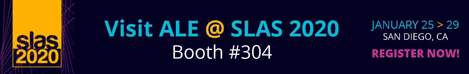 Vist ALE at SLAS 2020 in San Diego, CA. January 25-29, 2020